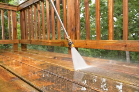 Pressure washing by Clara Cleaning Services, LLC